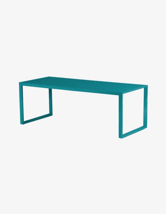 Banc-en-Aluminium-Yvone-bleu-turquoise