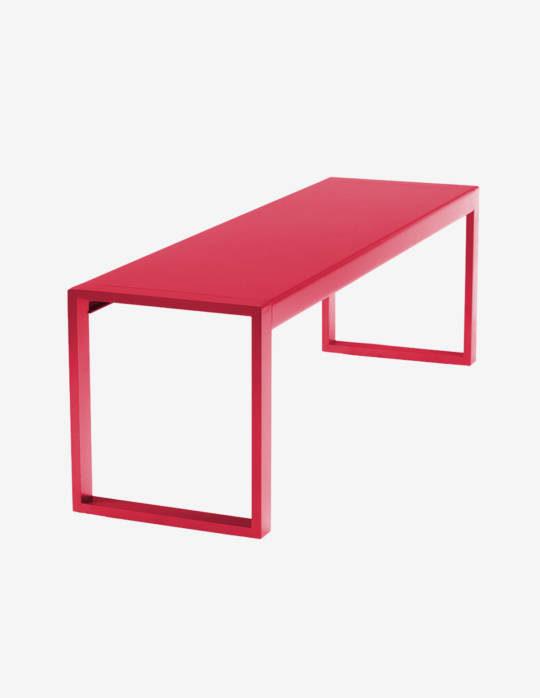 Banc-en-Aluminium-grand-modele-Yvone-2-rouge-fraise