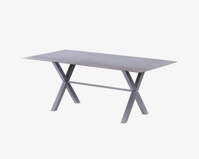 Table haute en acier-Jeane
