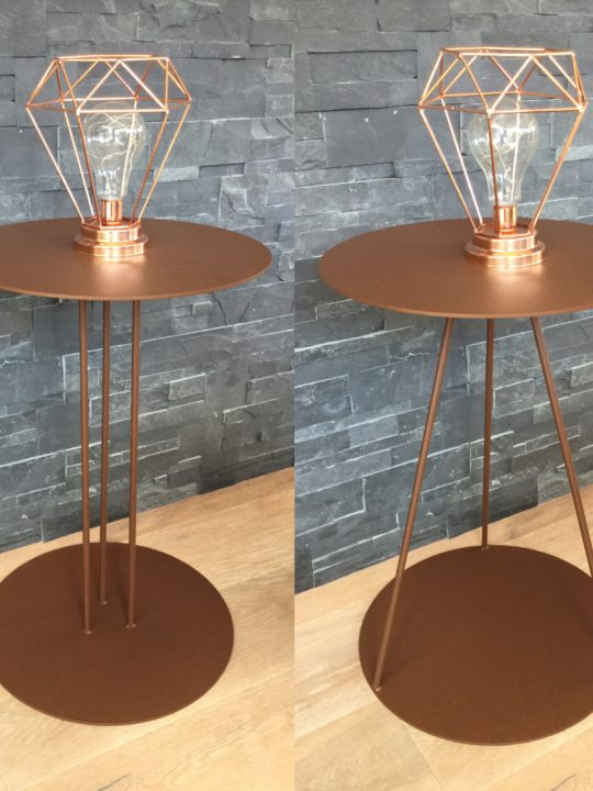 Table d'appoint Syre Origine Metal