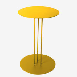 Table D Appoint Droite En Acier Syre Origine Metal Creation De