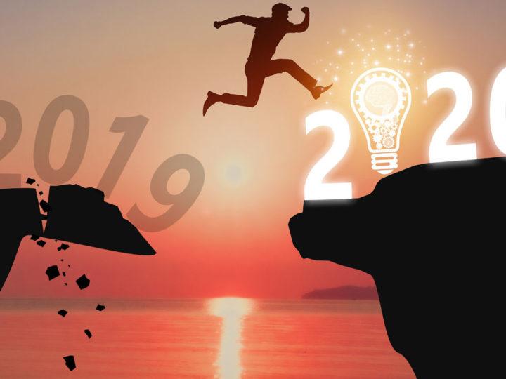 Meilleurs voeux pour cette année 2020 d'en fer !
